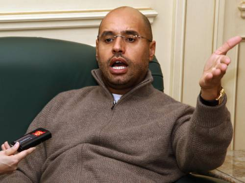 Saif al-Islam. (Getty)