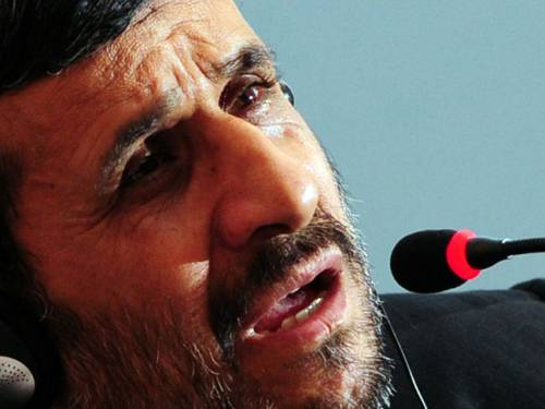 Iranian President Mahmoud Ahmadinejad. (Getty)