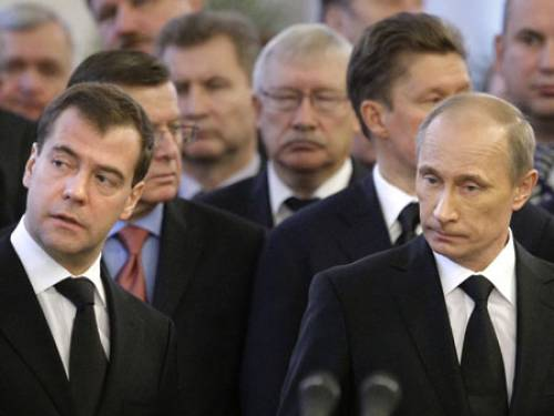 Medvedev and Putin (Getty Images)