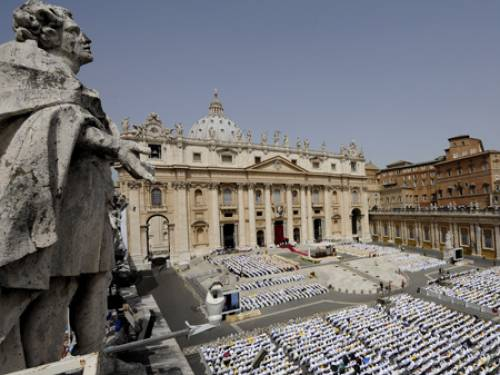 San Pietro in the Vatican. (Getty Images)