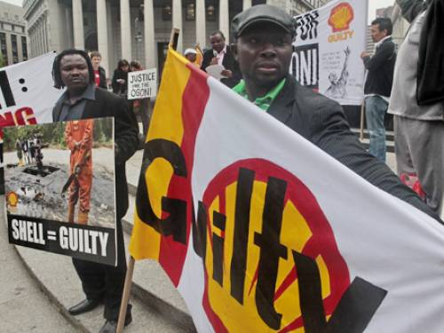 Shell has long been accused of abuse in Nigeria. (AAP)
