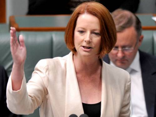 Ms Gillard says the Malaysian minister's words had been misreported. (AAP)