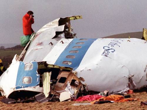 Two hundred and seventy people were killed when Pan Am Flight 103 exploded over the town of Lockerbie on December 21, 1988.