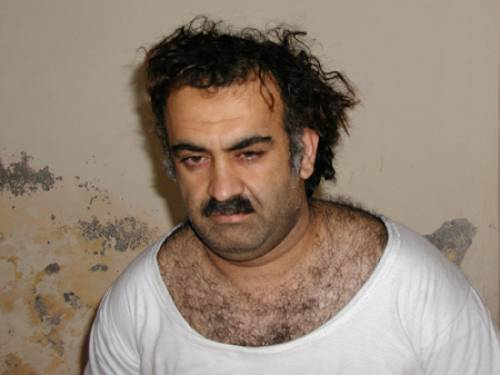 Khalid Sheik Mohammed, the alleged mastermind behind the 9/11 attacks. (AAP)