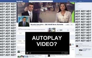 Facebook considers autoplay videos