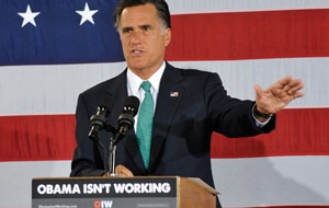 Republican challenger Mitt Romney (Getty)