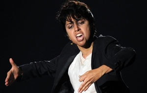 Lady Gaga as her male alter ego, Jo Calderone (Getty).