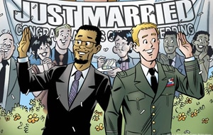 War hero Kevin Keller ties the knot in the latest edition of