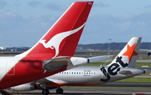 Qantas is changing its flight pricing policies. (File EPA)
