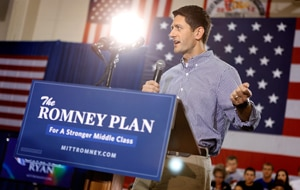 Mitt Romney's running mate Paul Ryan. (Getty)