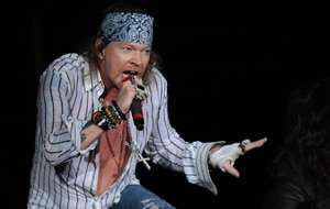 Guns N' Roses frontman Axl Rose. (Getty Images)