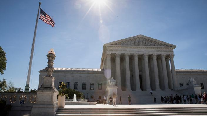 The US Supreme Court in Washington