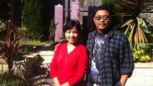 Ko Kyaw Thu and wife Ma Myint Myint Khin Pe