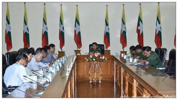 Meeting with Myanmar Defense Cheif