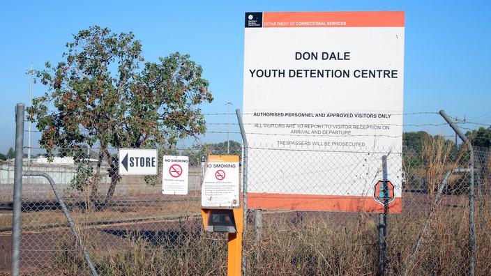 The Don Dale youth detention centre in Darwin