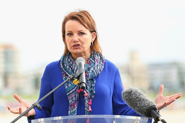 File photo of former Minister for Health and Aged Care Sussan Ley