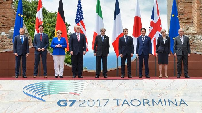 2017 G7 Forum - Family Photo