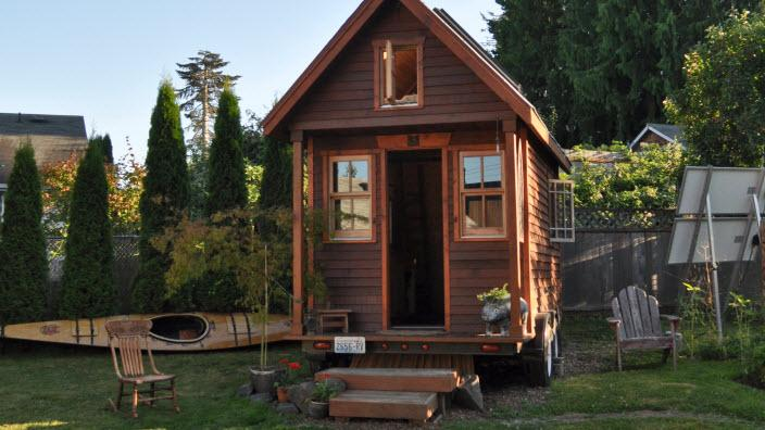 Tiny house in Oregon, USA