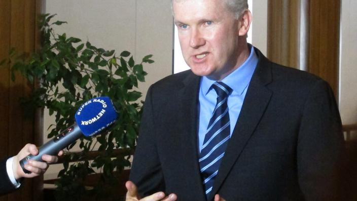 Tony Burke … says Labor will oppose new citizenship test