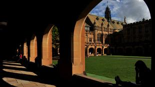Ang quadrangle sa Sydney University