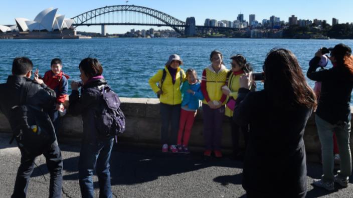 Mga turistand Tsino sa Sydney
