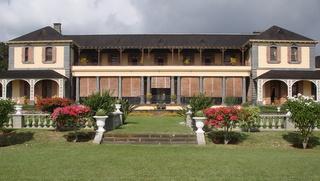 le château du Réduit, résidence officielle du chef de l'État