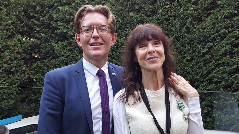Julie Rose et Nicolas Croizer