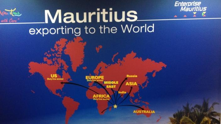 Mauritius exporting to the world