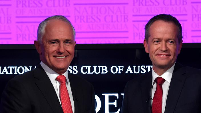 Malcolm Turnbull & Bill Shorten