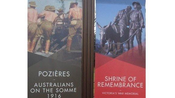 Pozieres exhibition Victoria War Memorial