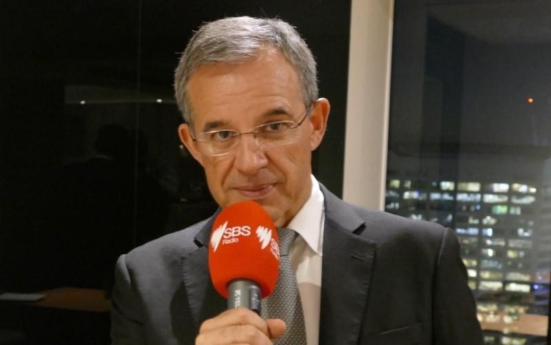 Thierry Mariani, député de la 11eme circonscription des français établis a l'étranger