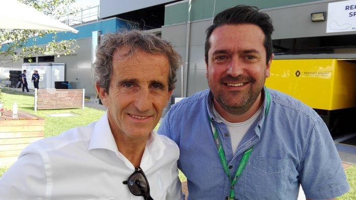 Alain Prost & Christophe