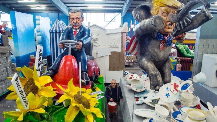 Der Kölner Karneval ist immer politisch