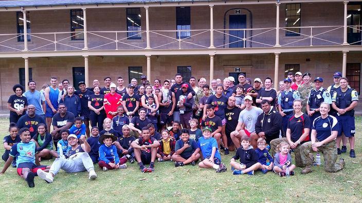 Tribal Warriors edzés után