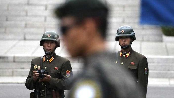 남북대화를 시도하는 한국