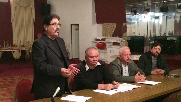 Претставници и членови на македонски организации на собир во Мелбурн