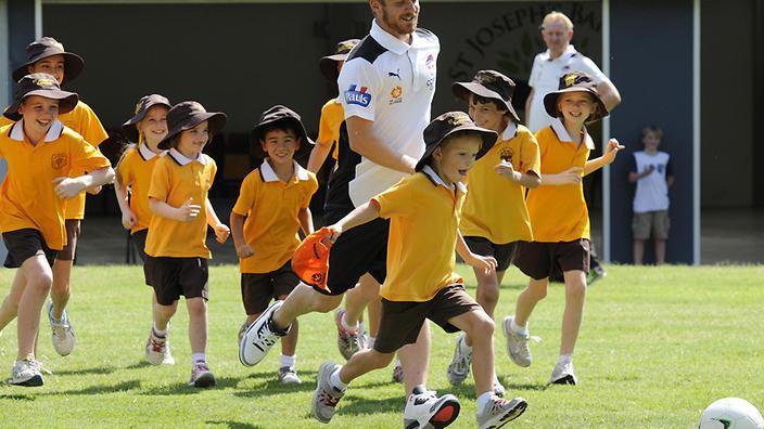 新州推出运动基金鼓励孩子体育运动