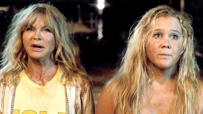 Goldie Hawn, Amy Schumer in