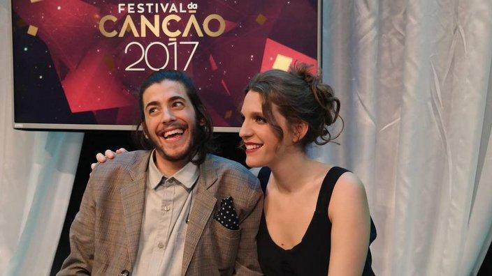 Salvador Sobral e a irmã Luisa