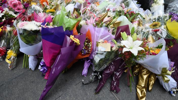 Cvetje na Martin Place