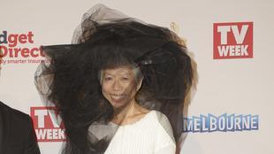 Napovedovalka poročil na SBSu Lee Lin Chin v Melbournu