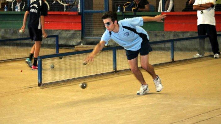Andrew Šuber na avstralskem mladinskem prvenstvu v Melbournu