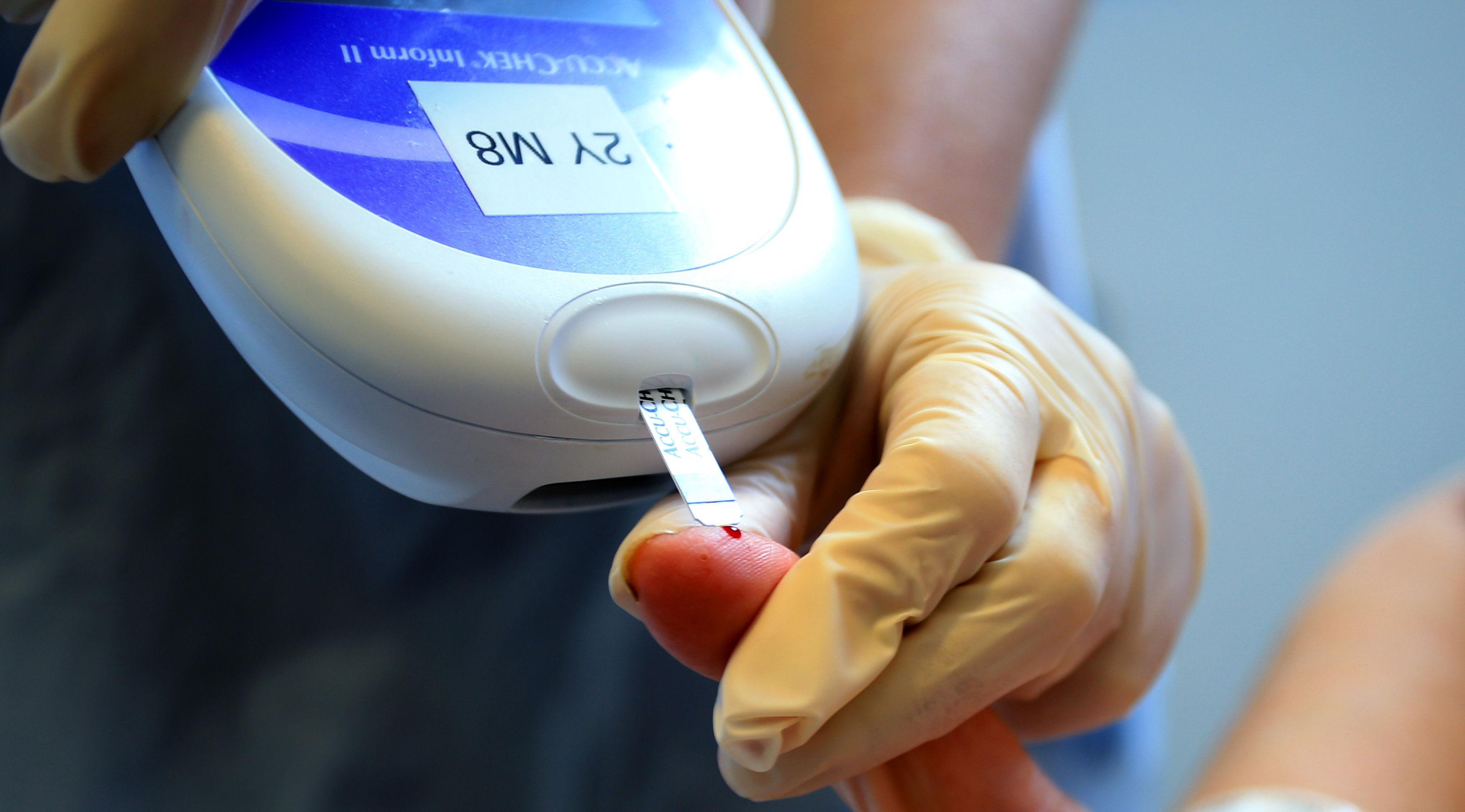 Test za sladkorno bolezen