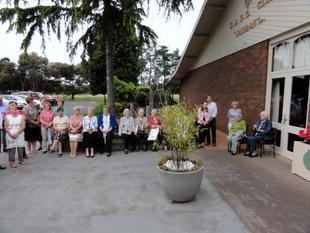 Člani in prijatelji Slovenskega Društva Jadran v Melbournu