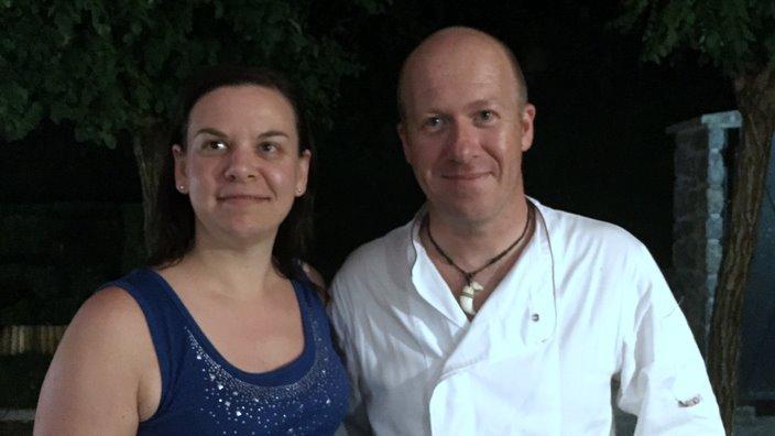 Kuhar Uroš in Tania Smrdel