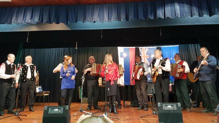 Muzikanti na odru