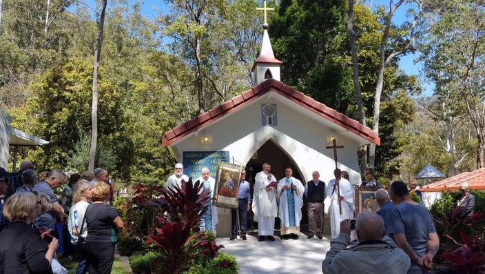 Slovenska kapelica, Marija Pomagaj v Marijini Dolini v Queenslandu