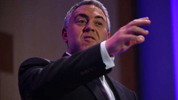 Australian Federal Treasurer Joe Hockey