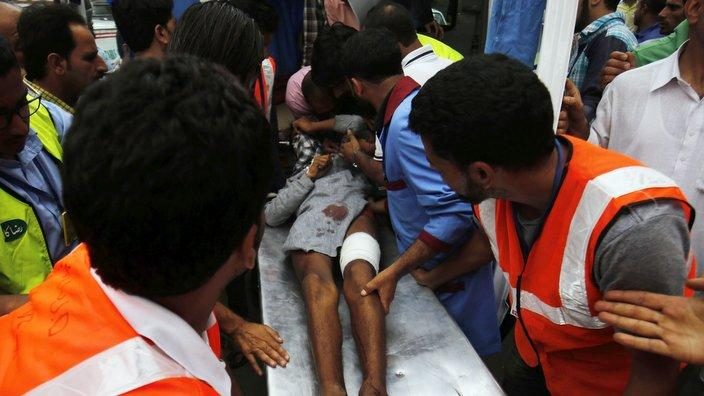 Killing and injuries in Kashmir