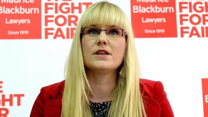 Nguyên đơn chính trong vụ kiện về sữa đậu nành Bonsoy bà Erin Downie